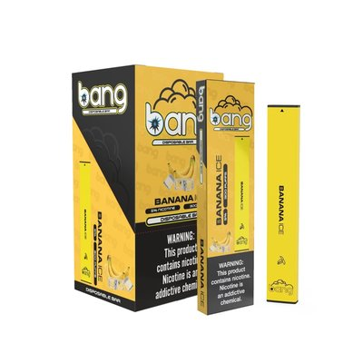 bang BANG DISPOSABLE DEVICE 5% - BANANA ICE