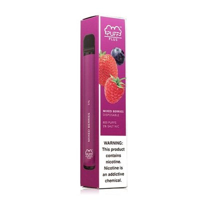 PUFF PLUS PUFF PLUS DISPOSABLE DEVICE 5% - MIXED BERRIES