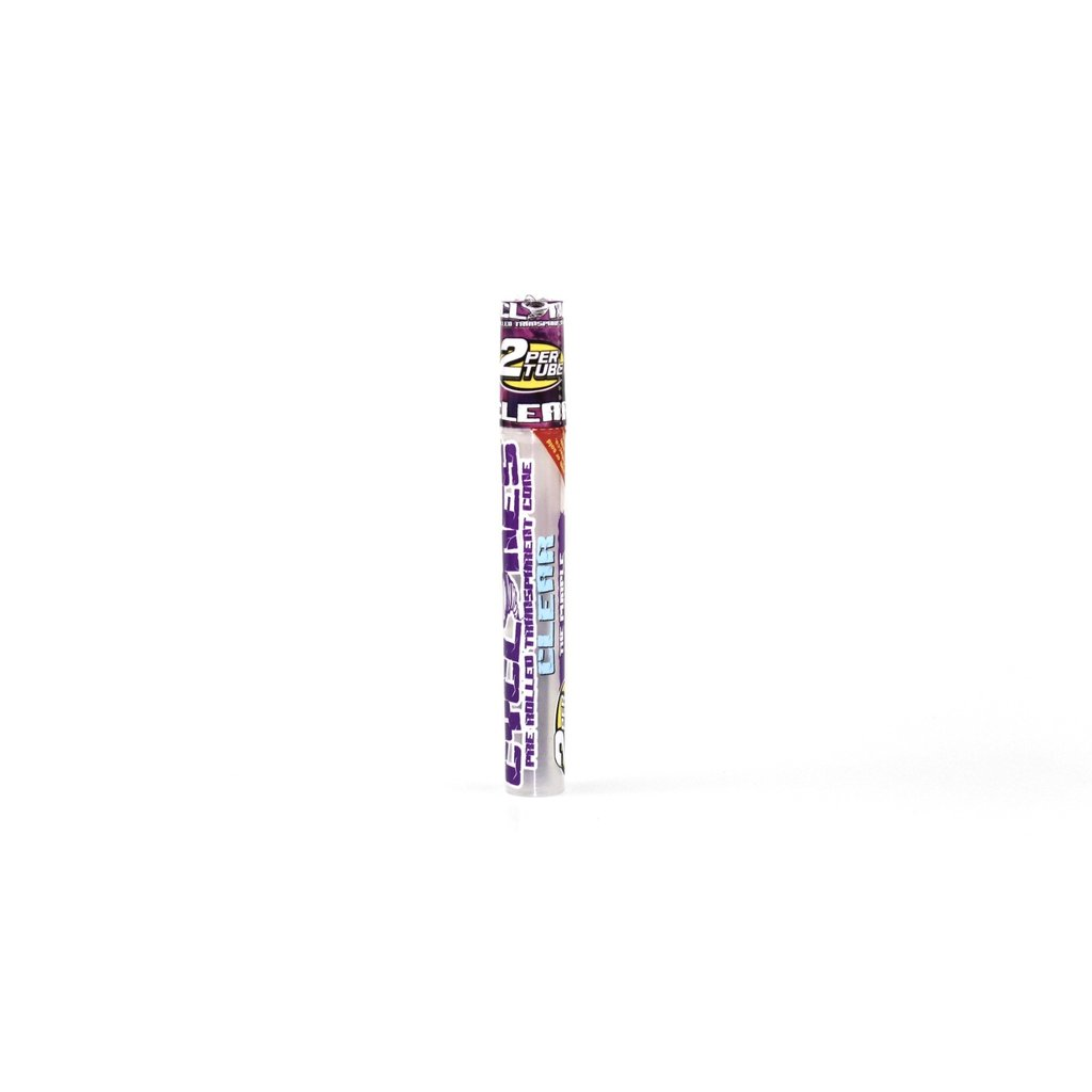 CYCLONES CLEAR PRE ROLLED CONE 2/PK -