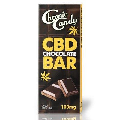 CHRONIC CANDY CBD CHOCOLATE BAR 100MG 1.86OZ/PC