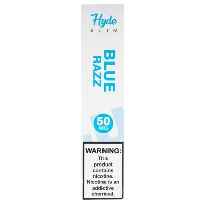HYDE HYDE SLIM DISPOSABLE DEVICE 50MG - BLUE RAZZ