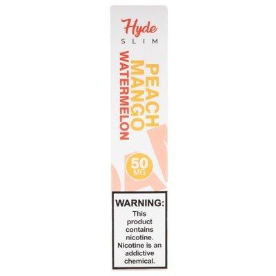 HYDE HYDE SLIM DISPOSABLE DEVICE 50MG - PEACH MANGO WATERMELON