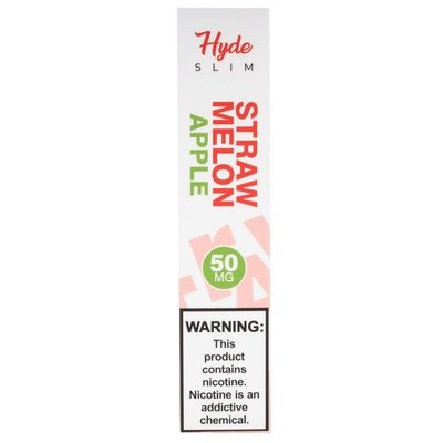 HYDE HYDE SLIM DISPOSABLE DEVICE 50MG - STRAW MELON APPLE