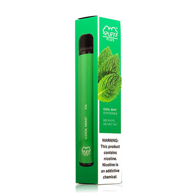 PUFF PLUS PUFF PLUS DISPOSABLE DEVICE 5% - COOL MINT