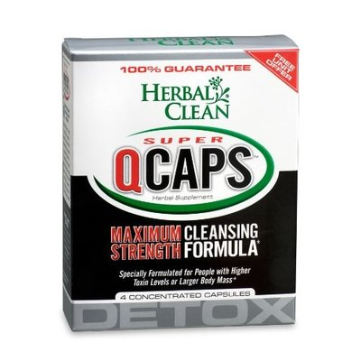 HERBAL CLEAN DETOX HERBAL CLEAN SUPER QCAPS 4/PK