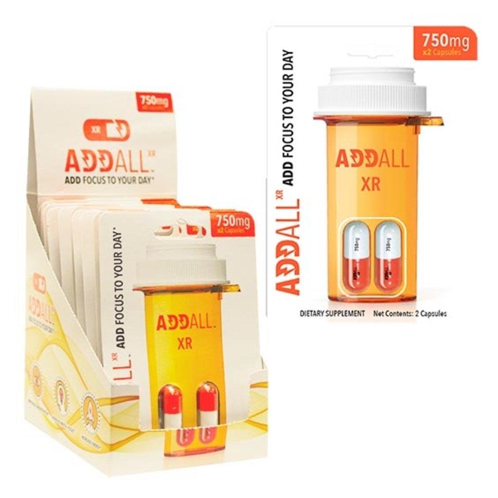 ADDALL XR 750MG CAPSULES 2CT/PK