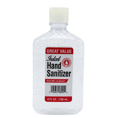 INSTANT HAND SANITIZER 8OZ