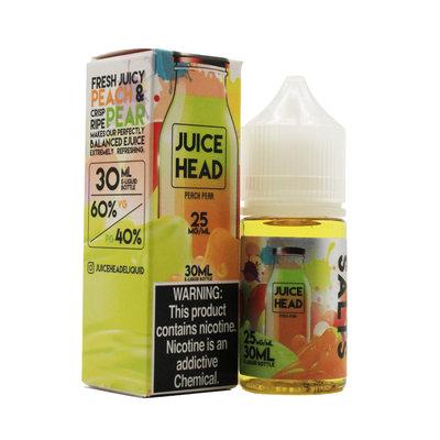 JUICE HEAD SALT 30ML - PEACH PEAR