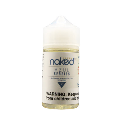 NAKED NAKED100 E-JUICE 60ml - AZUL BERRIES
