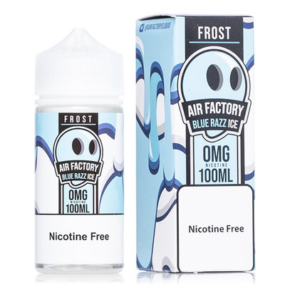 FROST AIR FACTORY E-JUICE 100ML - ORIGINAL BLUE RAZZ ICE