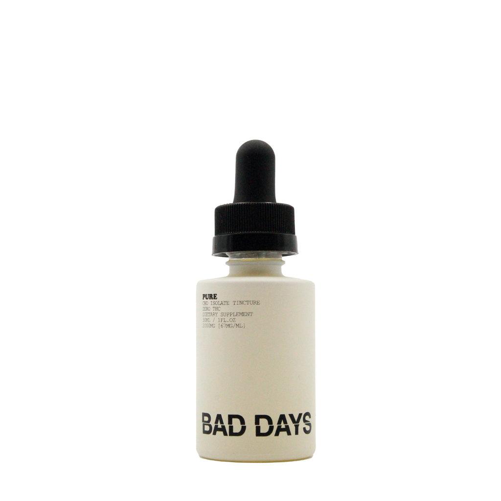BAD DAYS BAD DAYS CBD TINCTURE ISOLATE - PURE