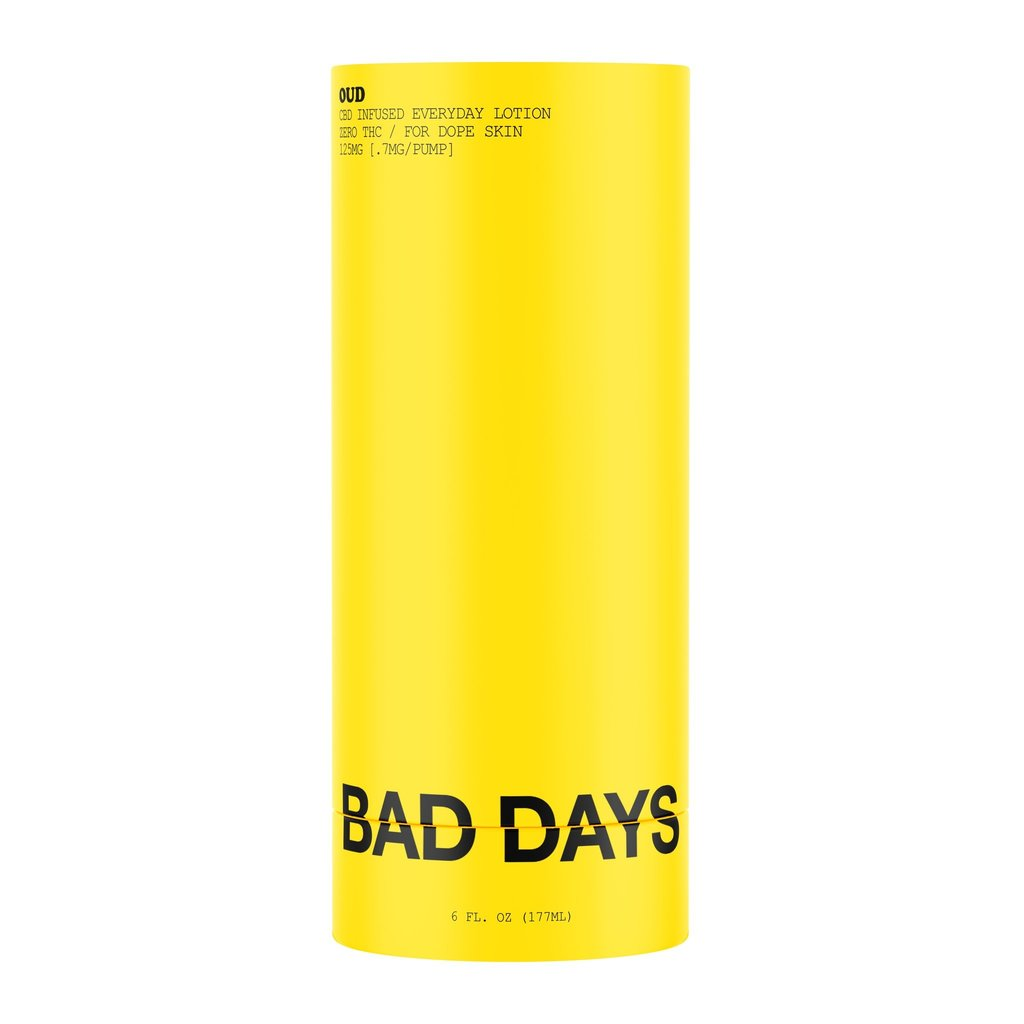 BAD DAYS BAD DAYS CBD INFUSED EVERYDAY LOTION 125MG