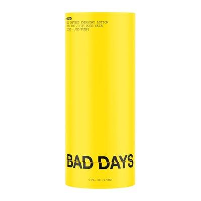 BAD DAYS BAD DAYS CBD INFUSED EVERYDAY LOTION 125MG
