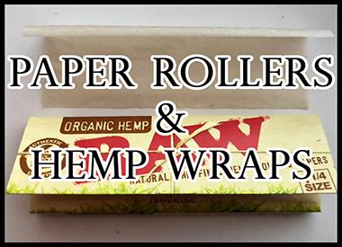 PAPER/ROLLERS & HEMP WRAPS