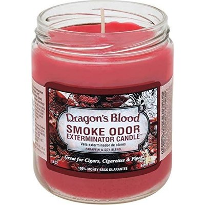 SMOKE ODOR EXTERMINATOR CANDLE 13oz DRAGON'S BLOOD