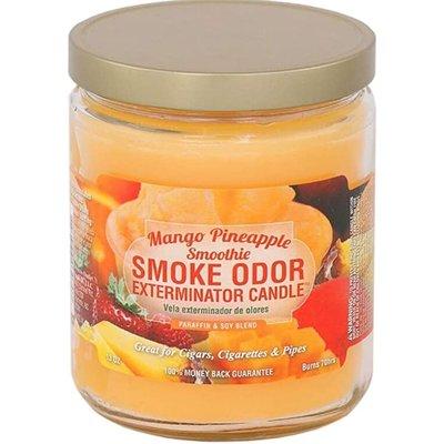 SMOKE ODOR EXTERMINATOR CANDLE 13oz MANGO PINEAPPLE SMOOTHI