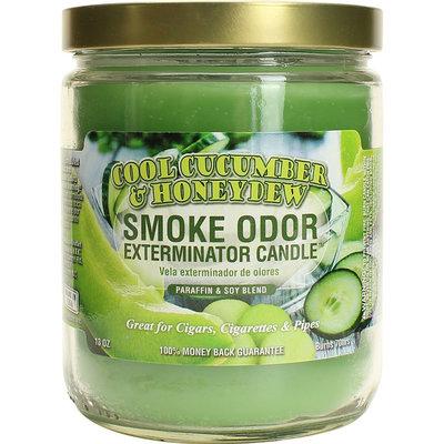 SMOKE ODOR EXTERMINATOR CANDLE 13oz COOL CUCUMBER