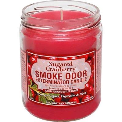 SMOKE ODOR EXTERMINATOR CANDLE 13oz SUGARED CRANBERRY