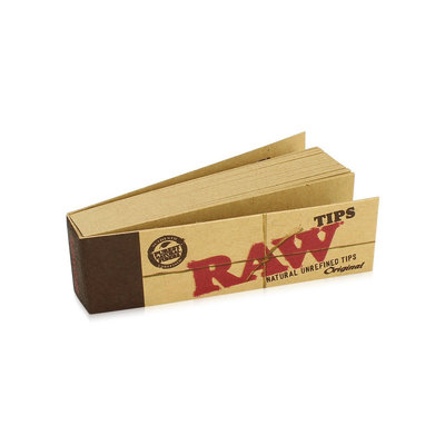RAW RAW NATURAL UNREFINED TIPS -