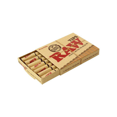 RAW RAW PRE ROLLED - CONE TIPS PERFECTO 21/PC