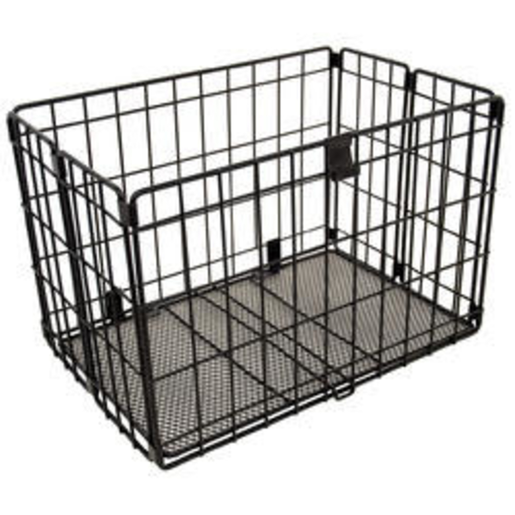 Evo Voyager EZ-Fold Rear Basket, Black