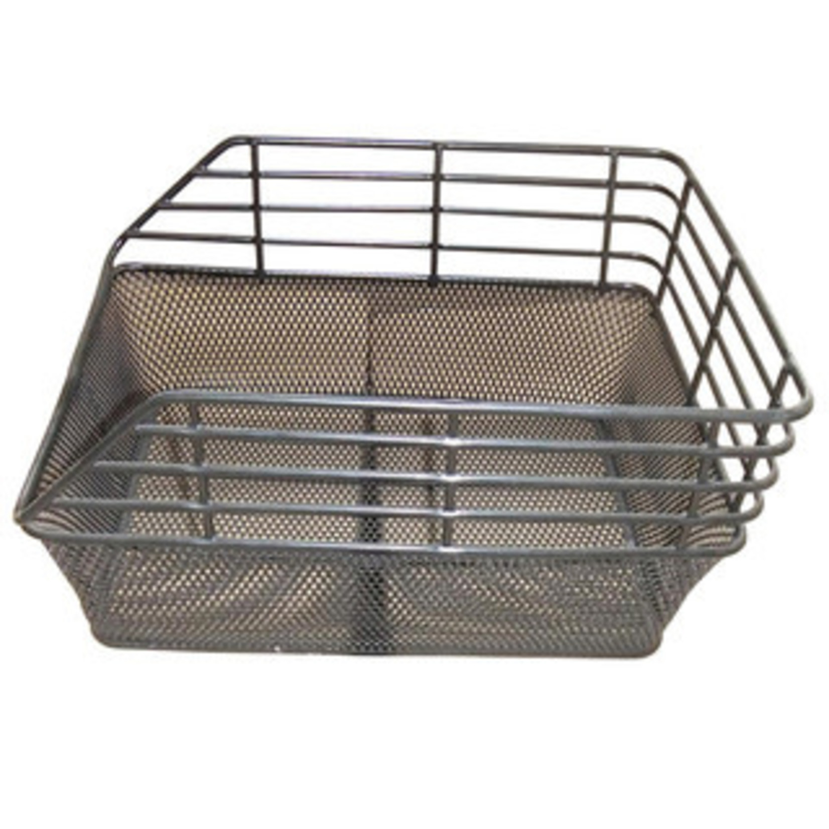 Evo Evo E-Cargo Dual Mesh Rear Basket, Black