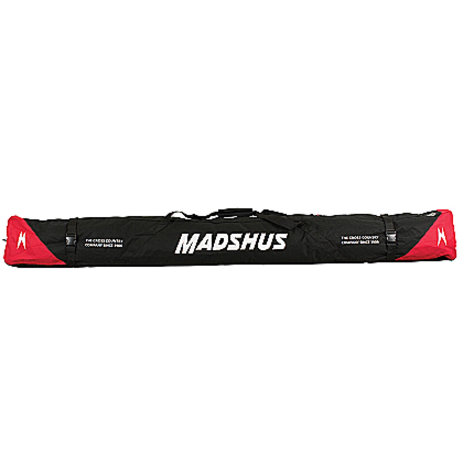 Madshus Madshus Ski Bag 5-6 Pair, Black
