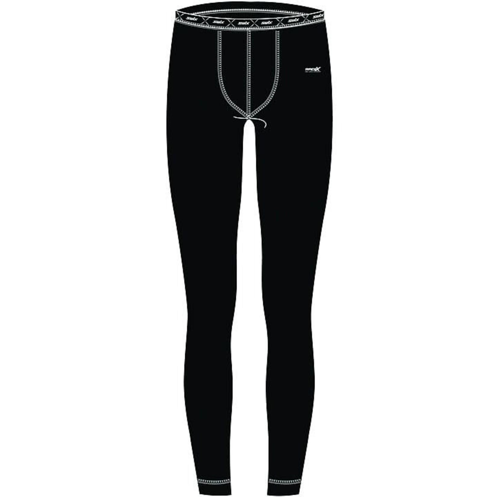 Swix Swix RaceX Warm Body Baselayer Pant Men's, Small, Black