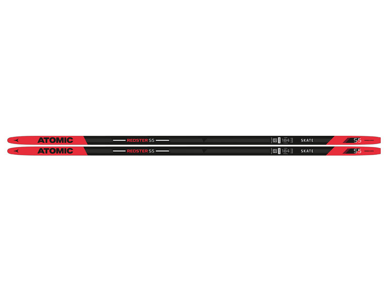 Atomic Atomic Redster S5, 184cm 132 to 176lbs, Black/ Red