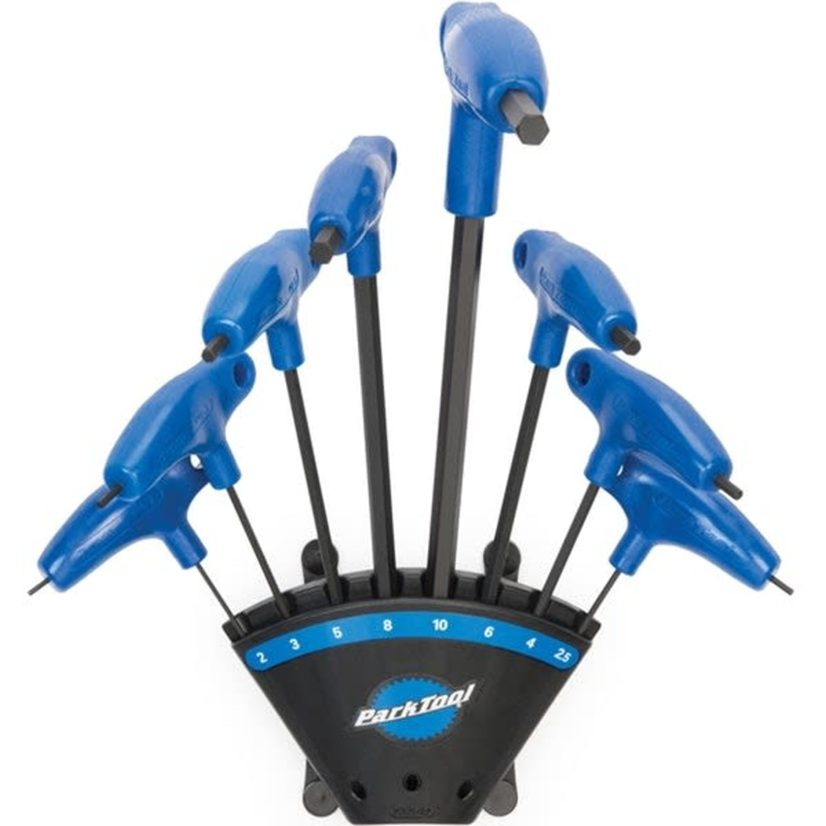 Park Tool Park Tool PTH-1.2 P-Handle Hex Wrench Set (with holder)