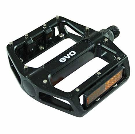 "Evo Evo Hightail Aluminium Platform Pedals Black 9/16"""