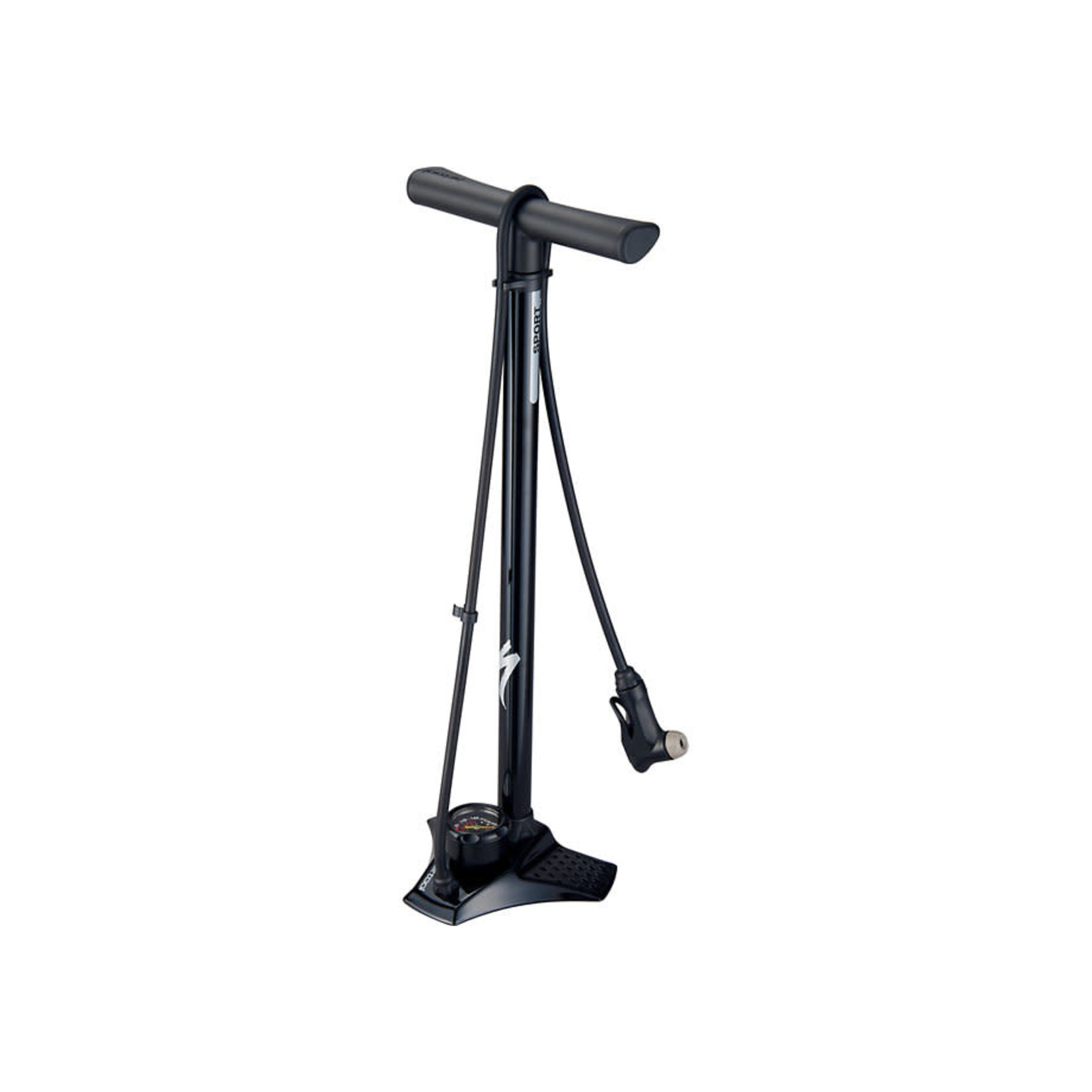 Specialized Specialized Airtool Sport Switchhitter II Floor Pump, Black