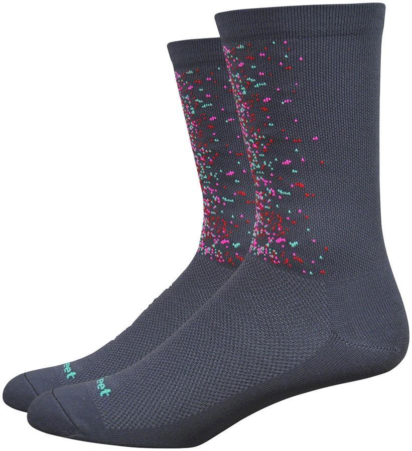 "DeFeet Aireator 6"" Splatter Socks"