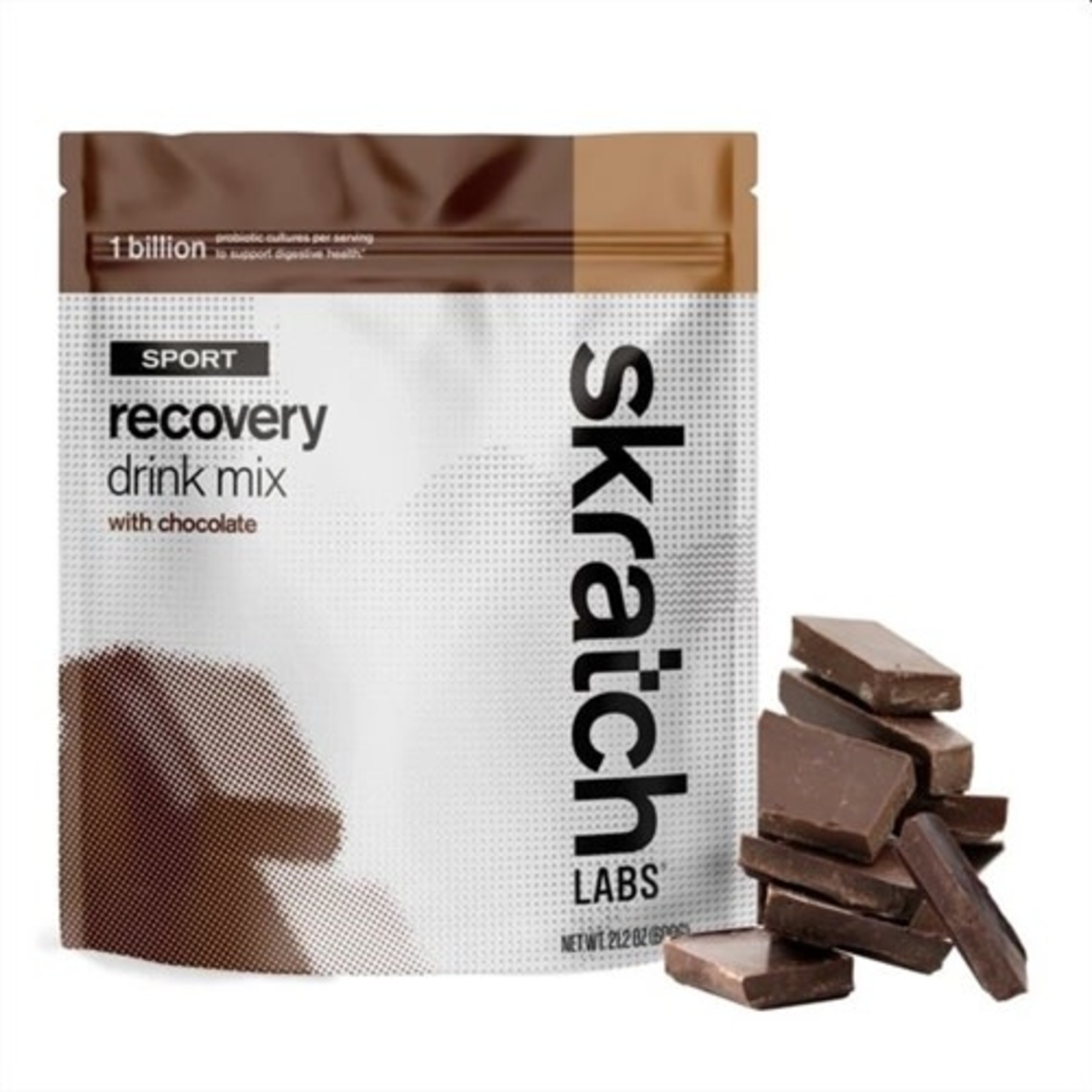 Skratch Labs Skratch Labs Sport Recovery Drink Mix, Chocolate, 600g