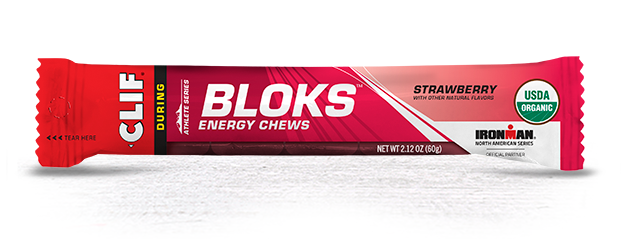 Clif Clif Blocks Energy Chews, Strawberry