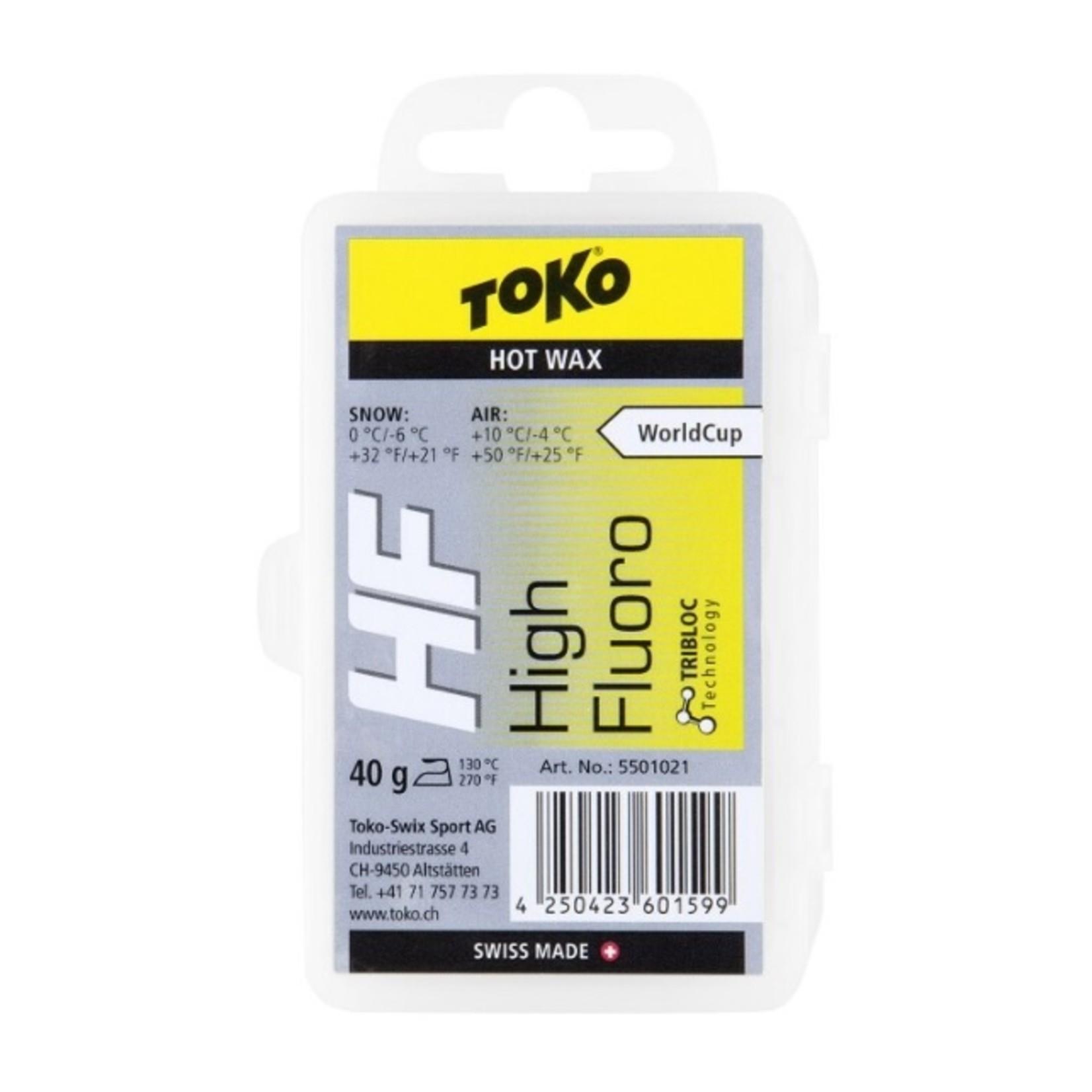 Toko Toko HF Wax Yellow (0 to -6), 40g