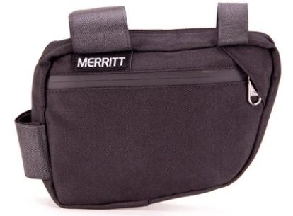 Merritt Merritt Corner Pocket Frame Bag, Black