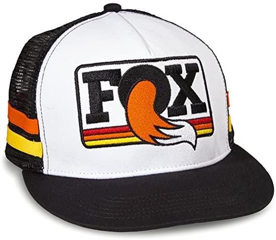 Fox Heritage Trucker Hat, Black