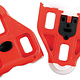 Look Delta Cleats, Red (9 degrees)