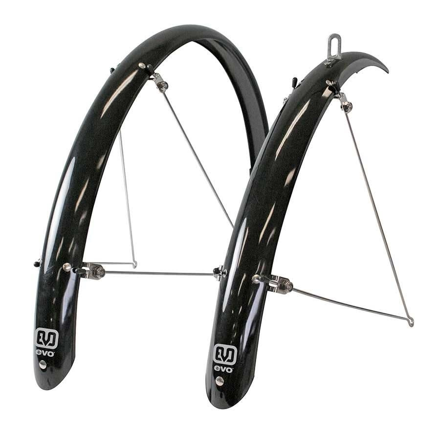 Evo Evo Power Guard Fender Set, Black, 700x32-40c