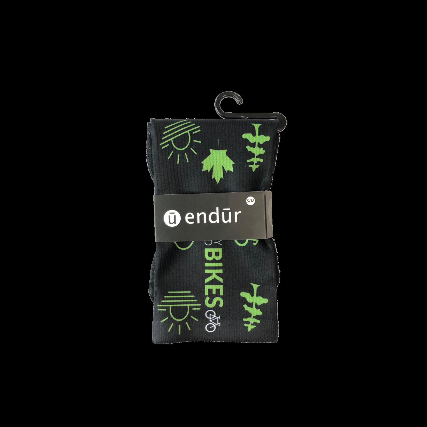 Endur Endur Parry Sound Bikes Icon Socks