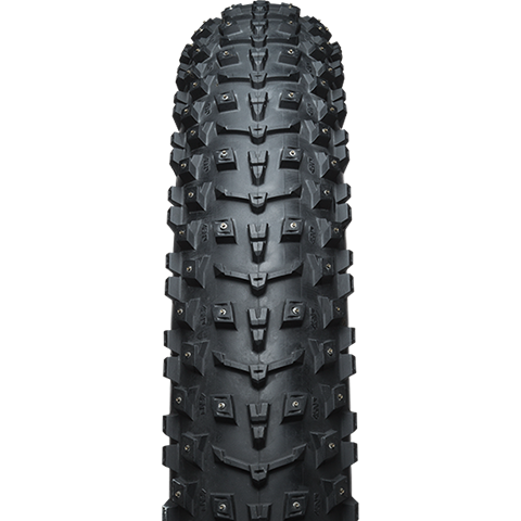 45 North 45NRTH Dillinger 5 Studded Tubeless Ready Folding Bead Tire, 26 x 4.6