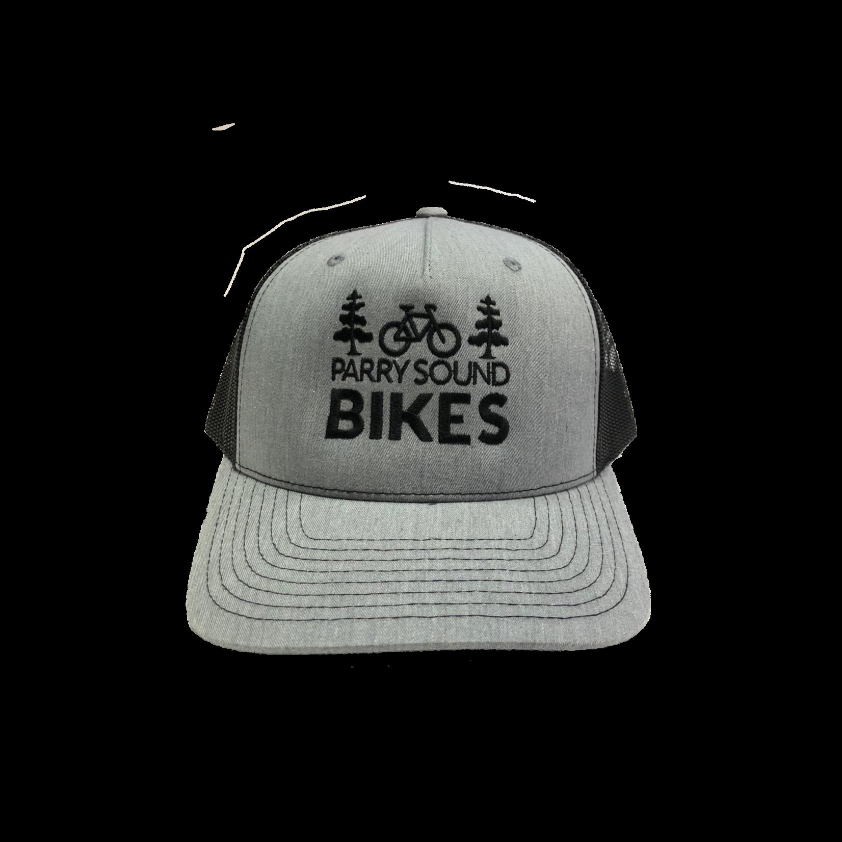 Parry Sound Bikes Parry Sound Bikes Mesh Back Hat, Black/ Grey