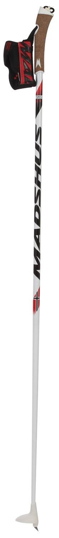 Madshus Madshus NCR Junior Carbon Skate Ski Poles (Adult Classic)