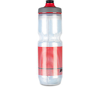 Specialized Specialized Purist Insulated Watergate 23oz Bottle Translucent Black/ Red