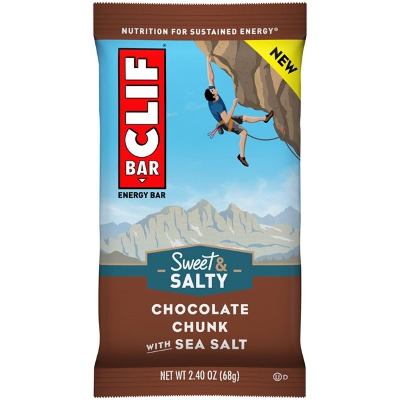 Clif Clif Chocolate Chunk with Sea Salt Energy Bar