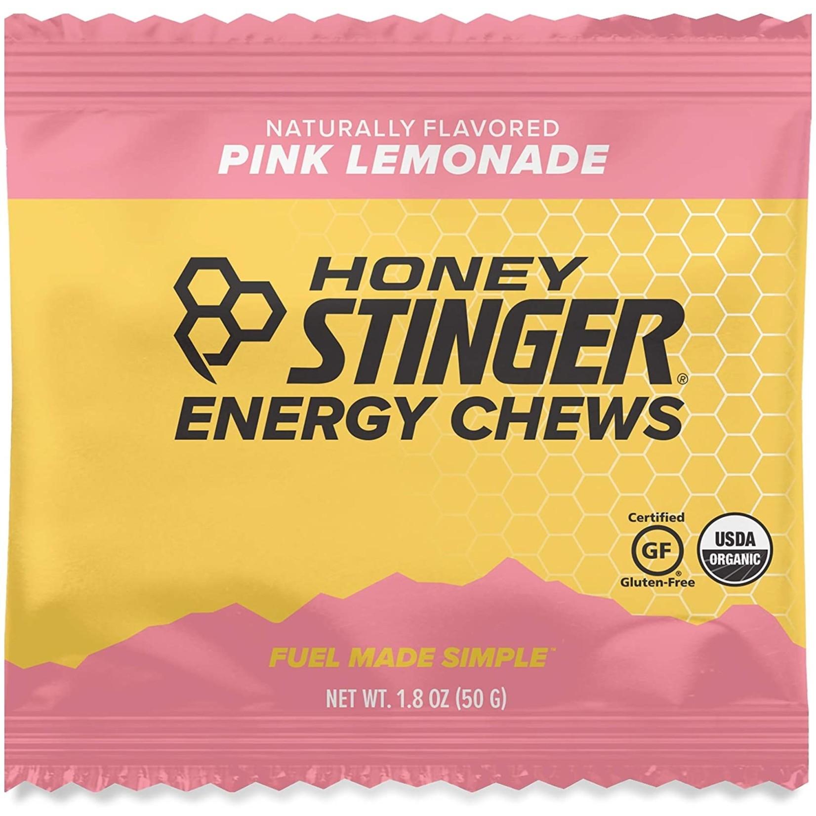 Honey Stinger Honey Stinger Organic Gluten Free Pink Lemonade Energy Chews