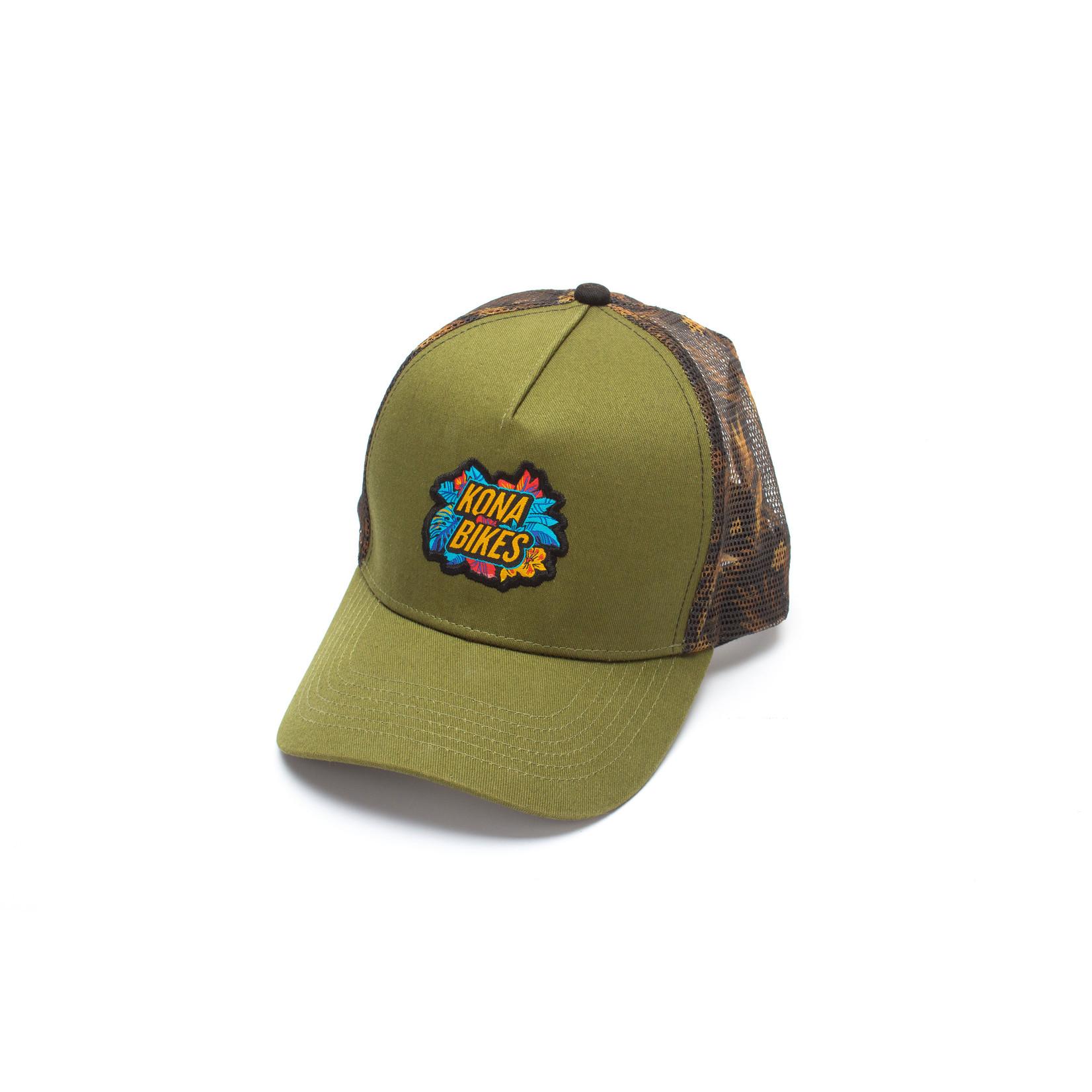 Kona Kona Hawaiki Floral Trucker Hat
