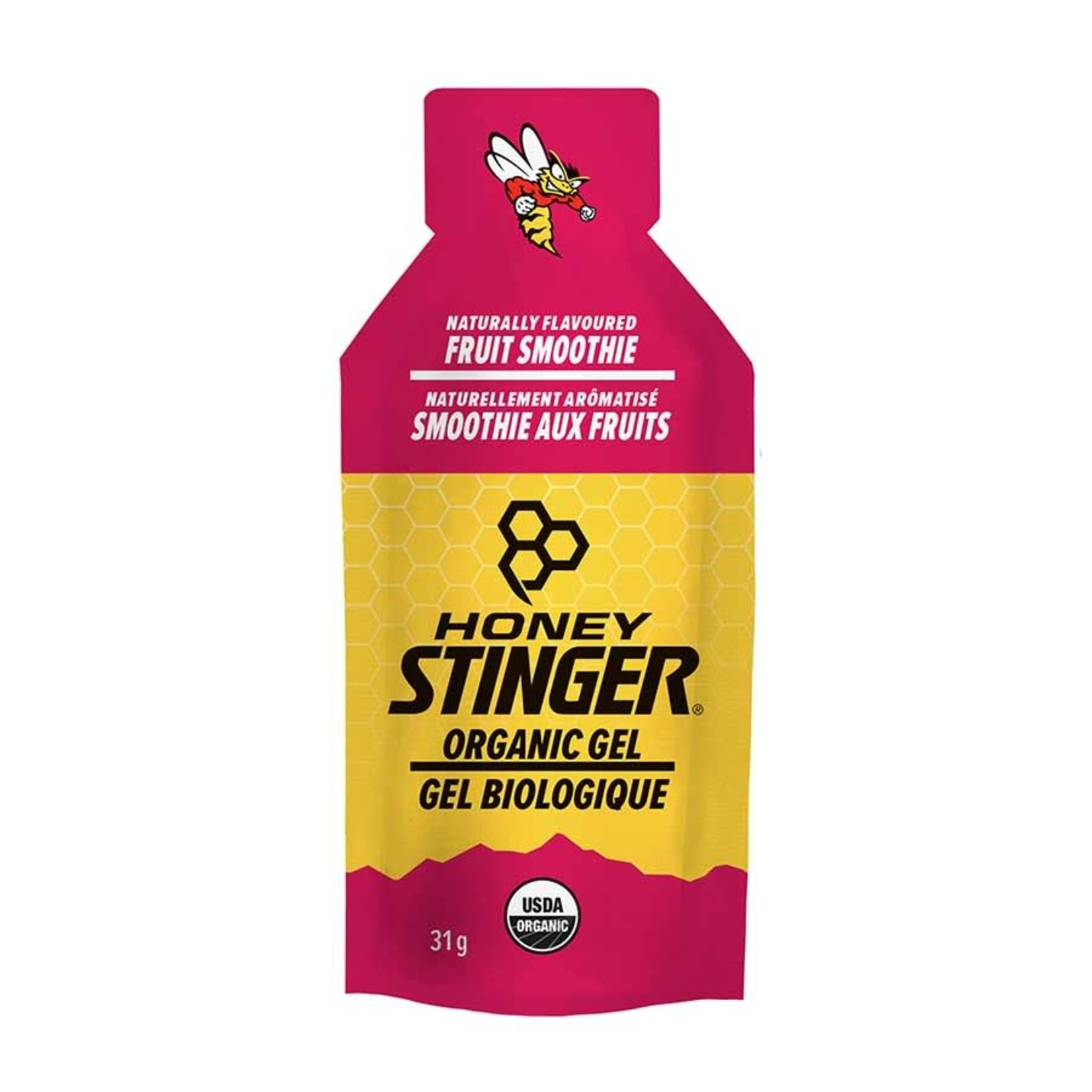 Honey Stinger Honey Stinger Organic Energy Gels, Fruit Smoothie