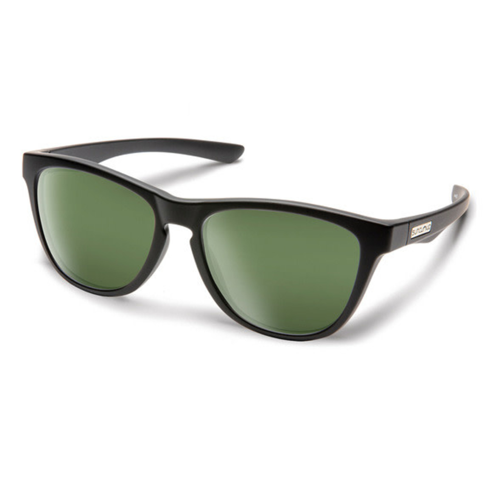 Suncloud Suncloud Topsail, Matte Black/ Polarized Grey Green